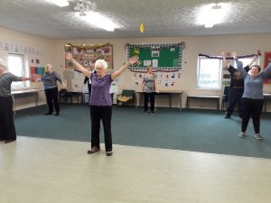 Exercise at Footprints Bedale Centre