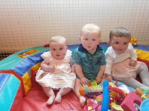Fun for Under 5's at Footprints Playgroup