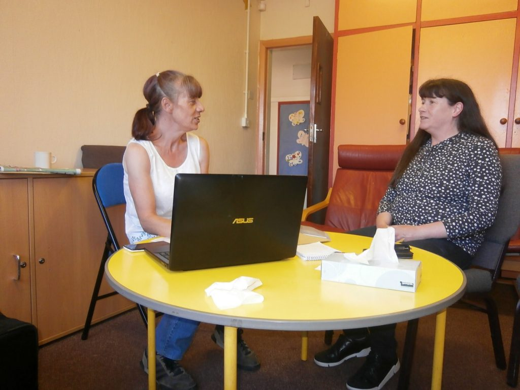 Advice Service at Footprints Buttershaw