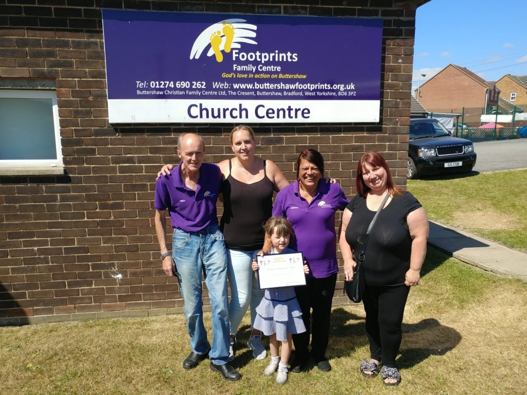 Footprints Family Centre, Caring for Buttershaw